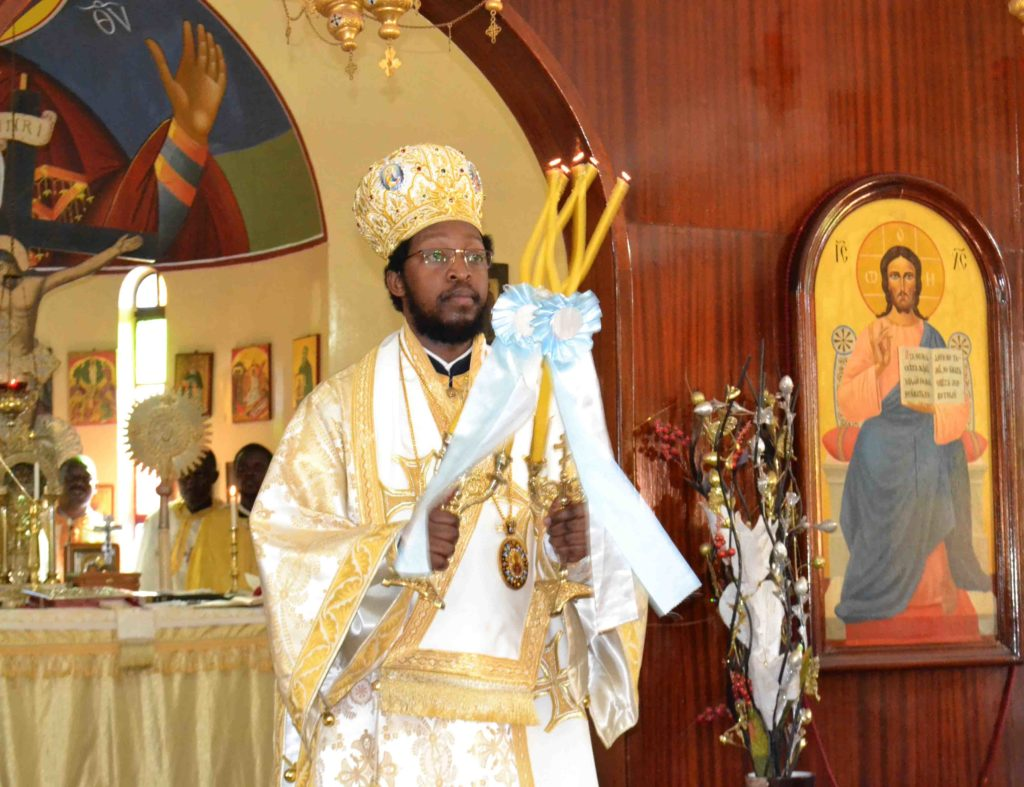 His Grace Bishop Silvester Kisitu